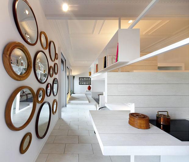 Specchi archives design lover - Specchi rotondi da parete ...