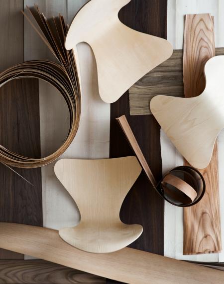 serie 7 di arne jacobsen. Black Bedroom Furniture Sets. Home Design Ideas