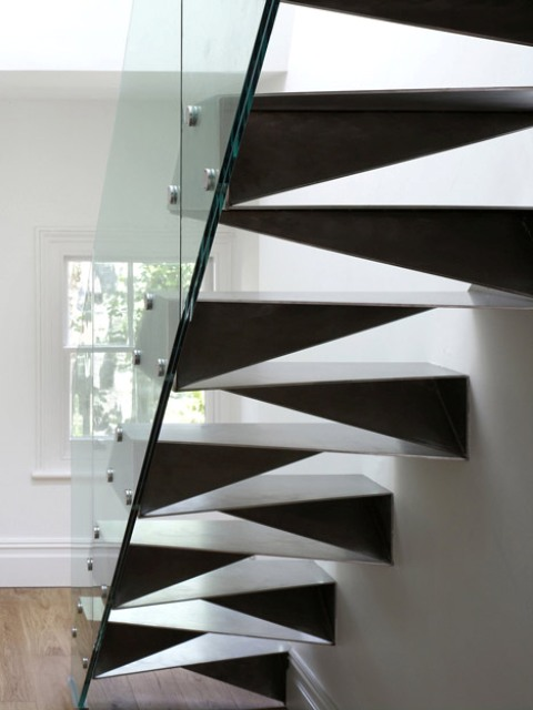 Origami Stair - Bell Phillips architects