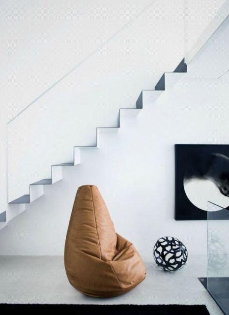 scala bianco nero