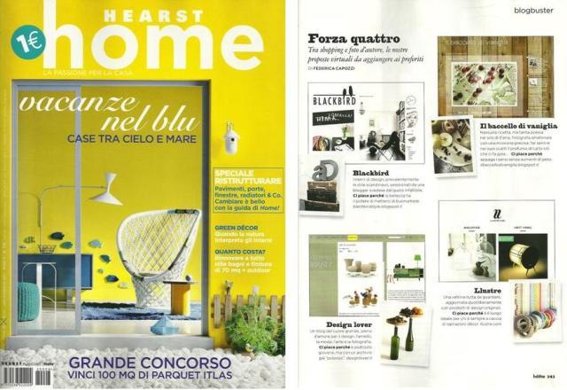Rivista home consiglia design lover for Rivista di design e produzione di mobili