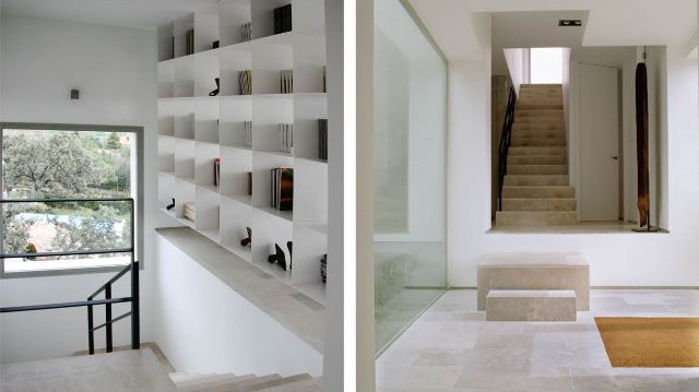 Architettura moderna archives design lover for Case interni bianchi