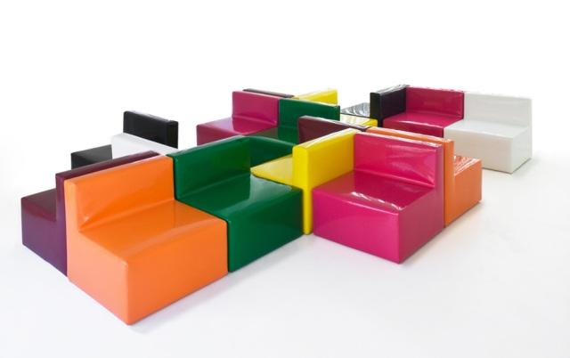 Divani modulari componibili idee per il design della casa - Divani colorati componibili ...