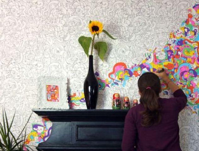 colourin wallpaper jon burgerman