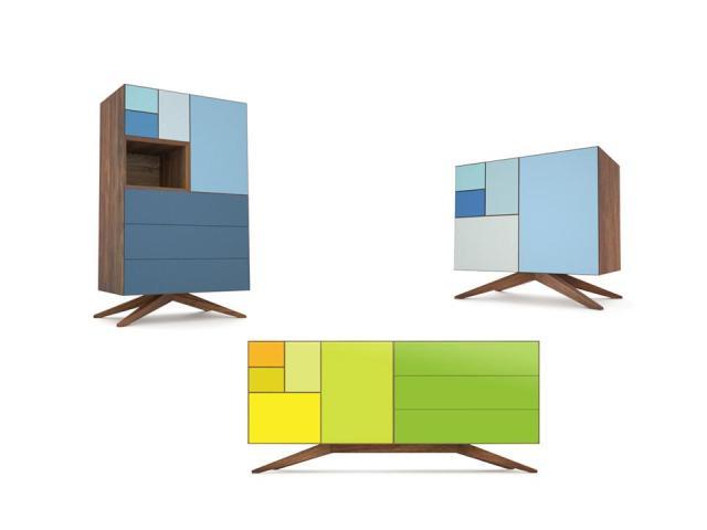 Mobili con ante colorate - Mobili colorati design ...