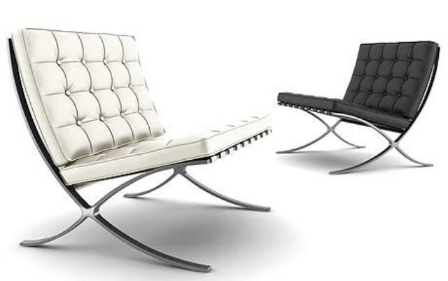 Design intramontabile wassily chair e barcelona chair for Poltrona barcelona knoll