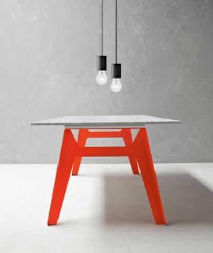 Tavoli con gambe colorate - Gambe per tavolo legno ...