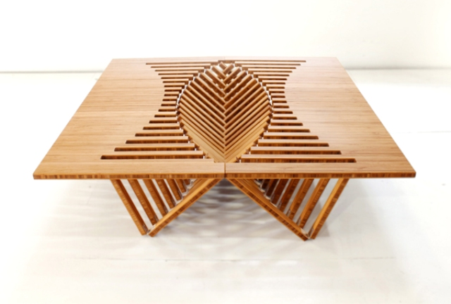 rising table - Robert van Embricqs
