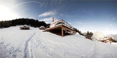 whitepod eco luxury hotel
