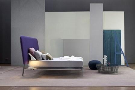 contrast bed - bonaldo