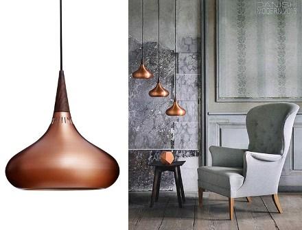 Lampada In Rame Design : Lampade in metallo