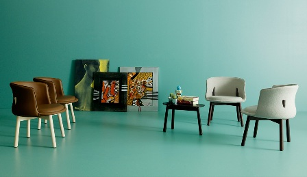 peg chair e coffee table - cappellini