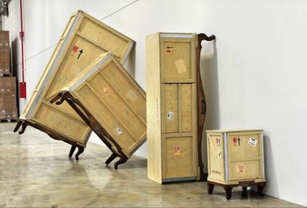 Nuovi mobili seletti da rossana orlandi durante il for Malerba mobili