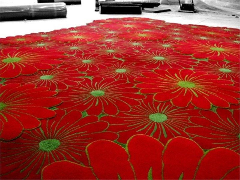 Perfect flowers piodao group with tappeti colorati for Amazon tappeti bagno