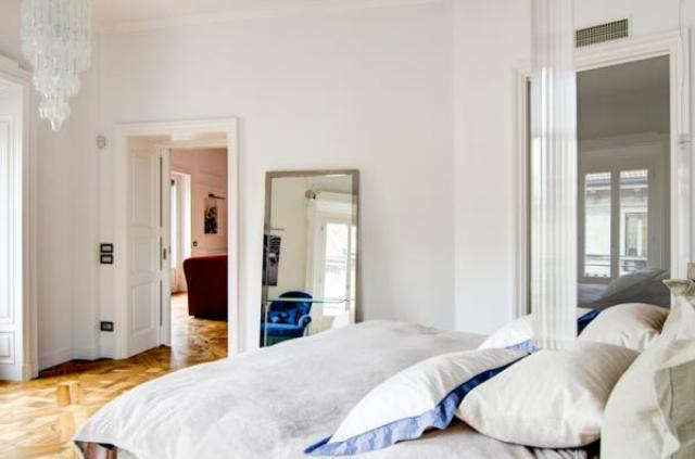 Appartamento in stile classico a milano by nomade architettura for Appartamento interior design