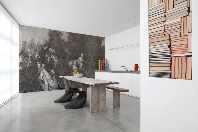 Inkiostro bianco archives design lover for Prezzi parati