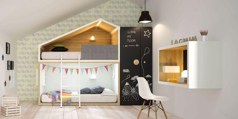 Arredamento per la cameretta dei bambini for Piccoli progetti di palafitte