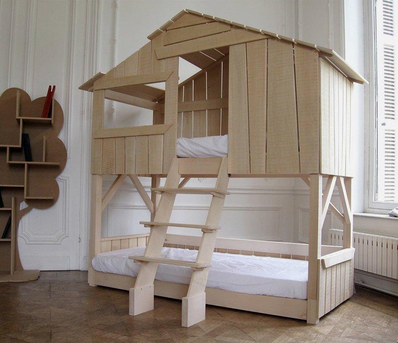 lit cabane - la corbeille