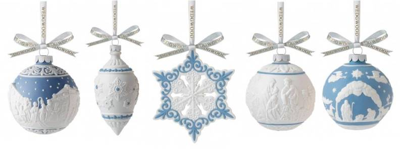 Three Wise Men Bauble - Wedgwood