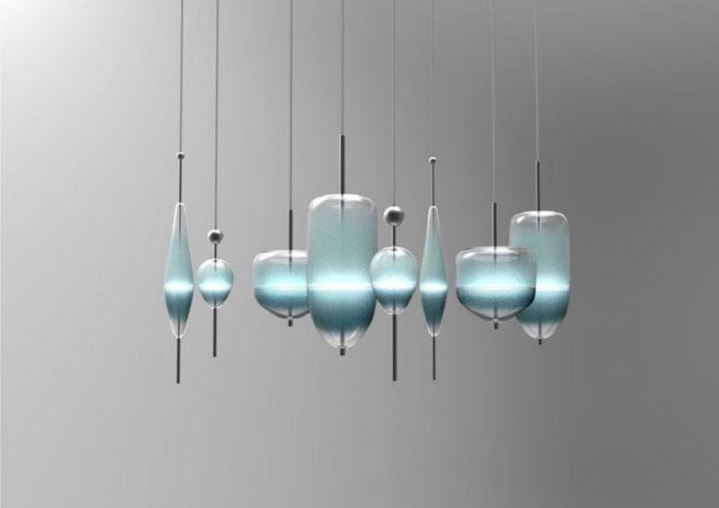 Lampade In Vetro Soffiato : Lampada di vetro soffiato archives design lover