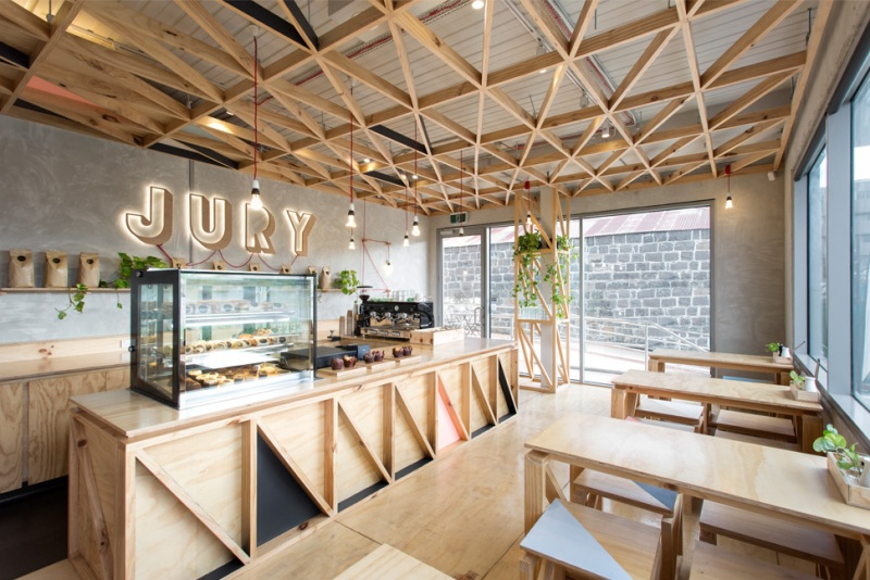 jury café - biasiol design studio biasiol