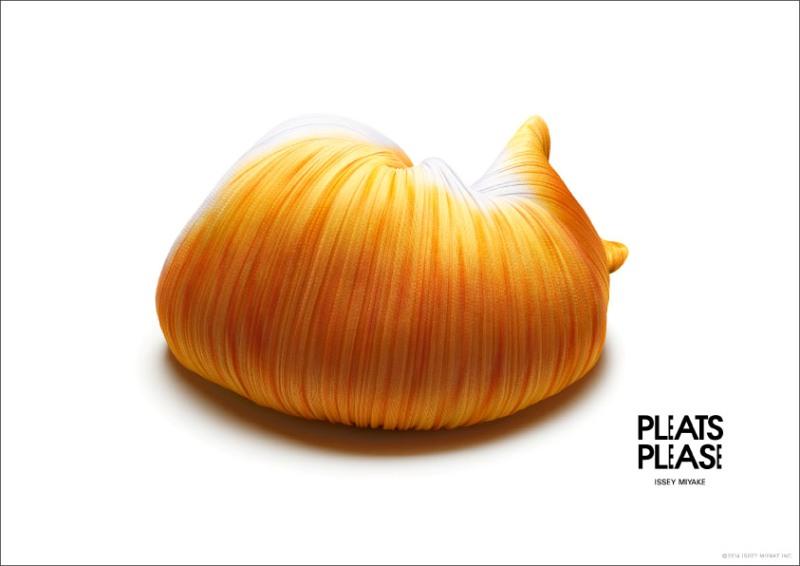 pleats please issey miyake - animals
