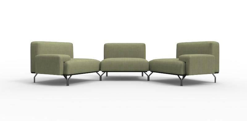 divano summit di giulio iacchetti per casamania