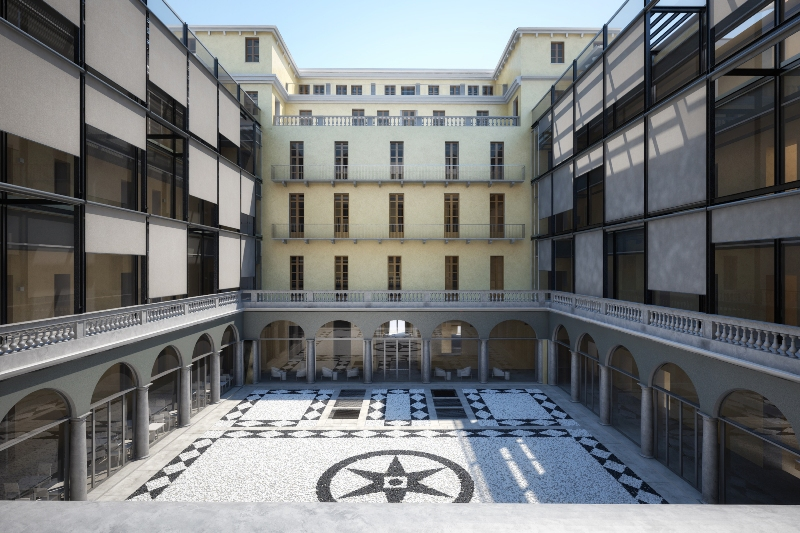 Hotel NH collection piazza Carlina Torino