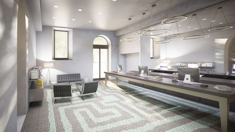 Reception hotel NH collection piazza Carlina, Torino