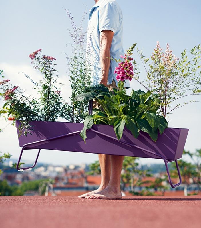 nuove fioriere Basket di Fermob