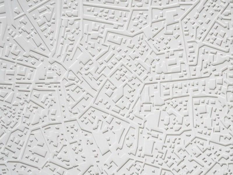 Rivestimento Citymap - 3D Surface