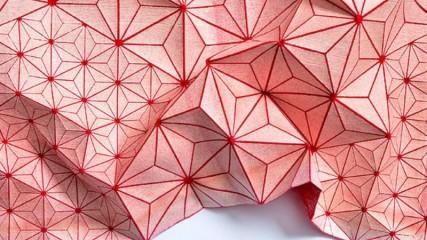 tessuto folding-A-part by Mika Barr