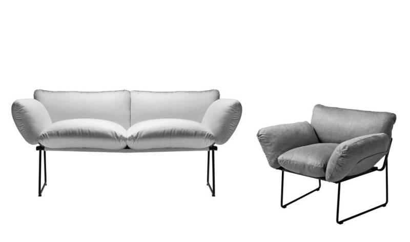 divano e poltrona elisa enzo mari