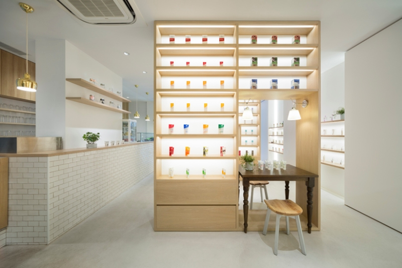 Beauty Library by Nendo