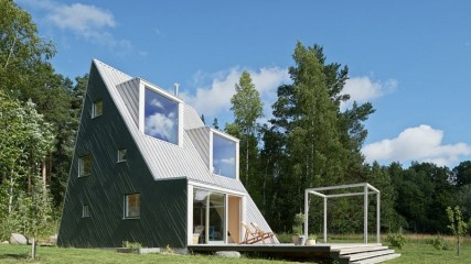 triangular home - leo qvarsebo arkitekt