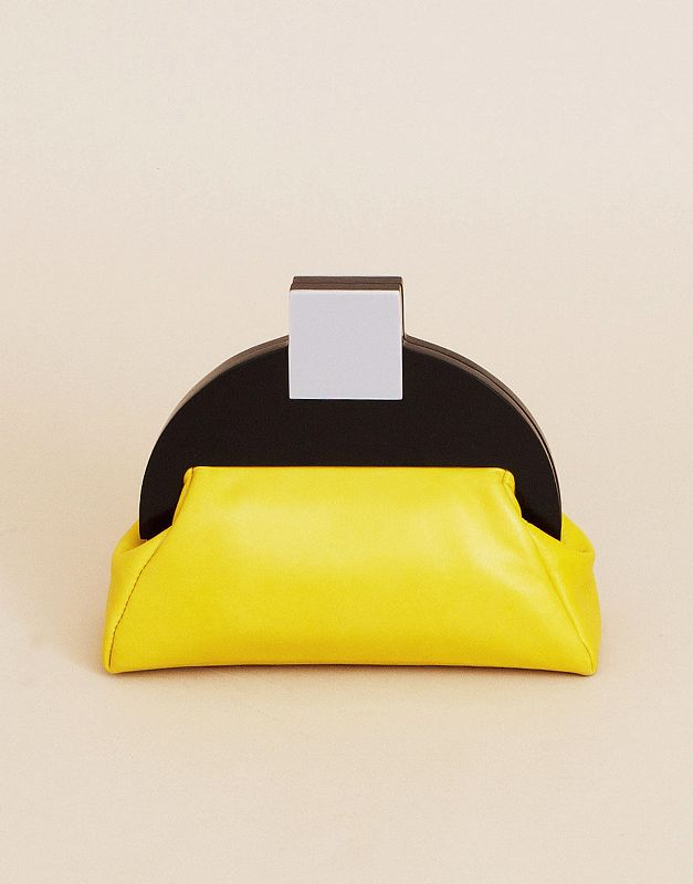Deco clutch bag