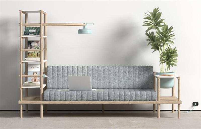 herb multifunctional sofa