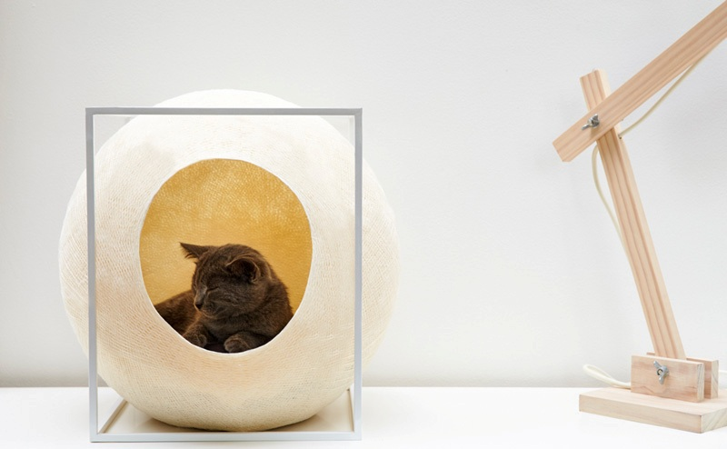 The Cube cat bed by Meyou