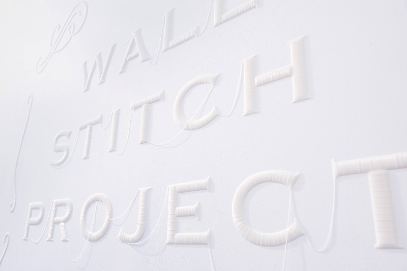 pareti ricamate wall stitch