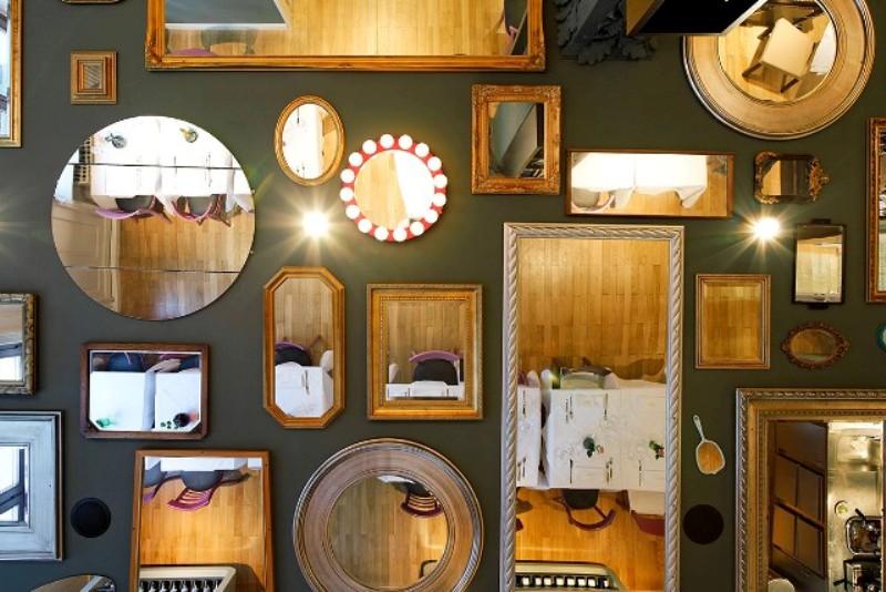 composizione di specchi