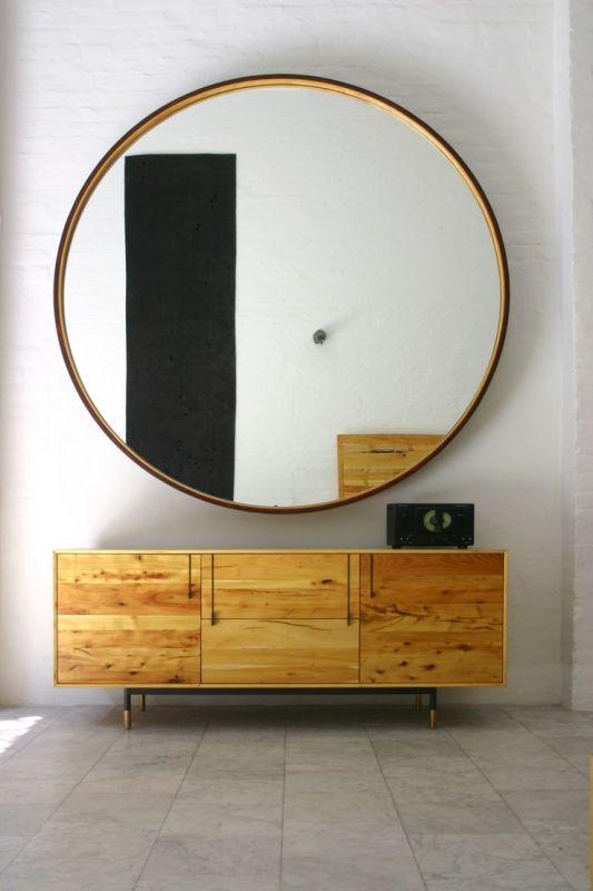 specchio grande rotondo