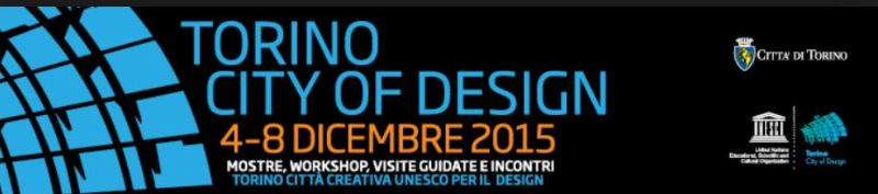 Torino City of Design 2015
