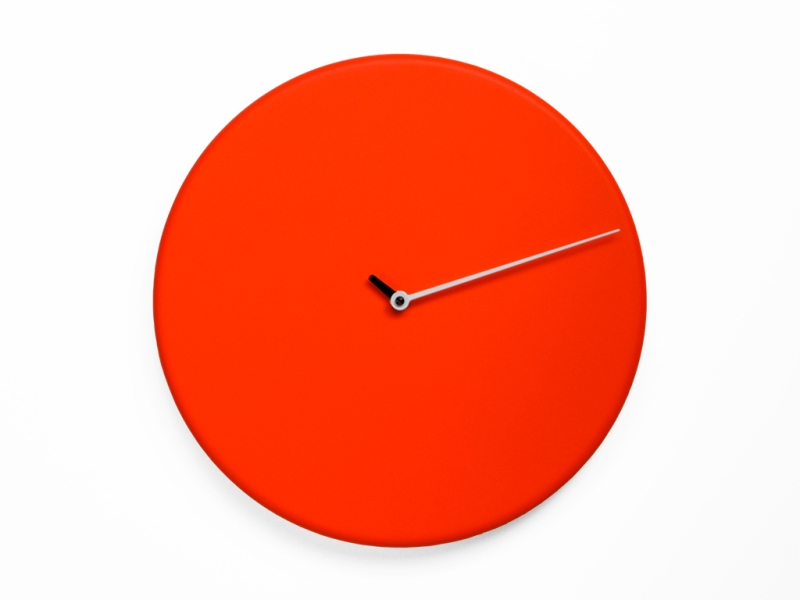 orologio da muro Less di Progetti