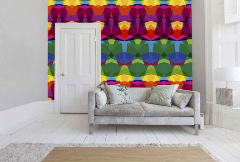 kaleidoscope vibrant wallpaper