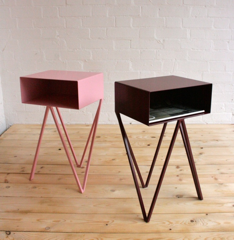 mini robot side tables by &New