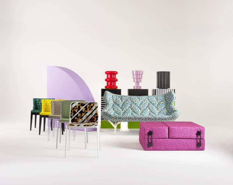 collezione kartell goes sottsass