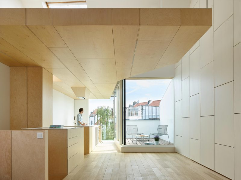ristrutturazione bruxelles by Marten Brunet architects