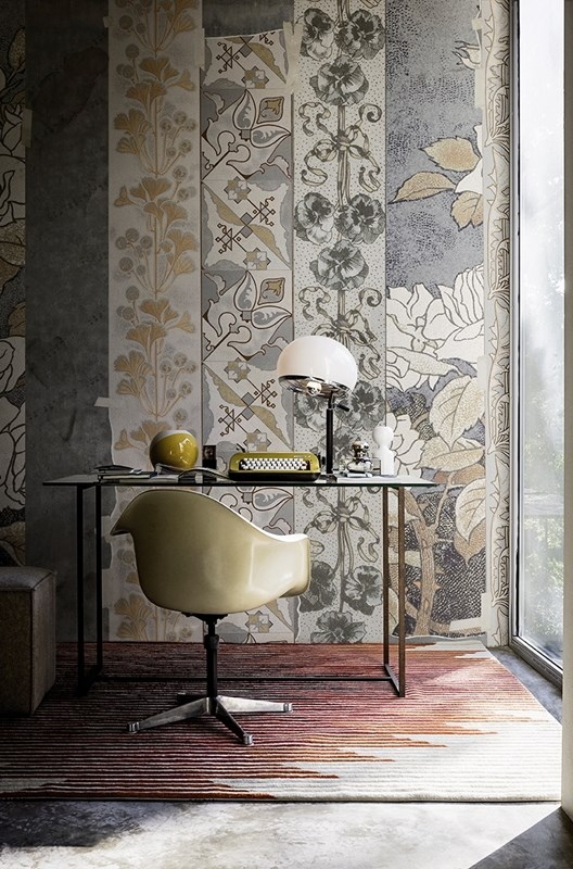 Wall deco 39 collezione 2016 design lover for Carta parati contemporanea