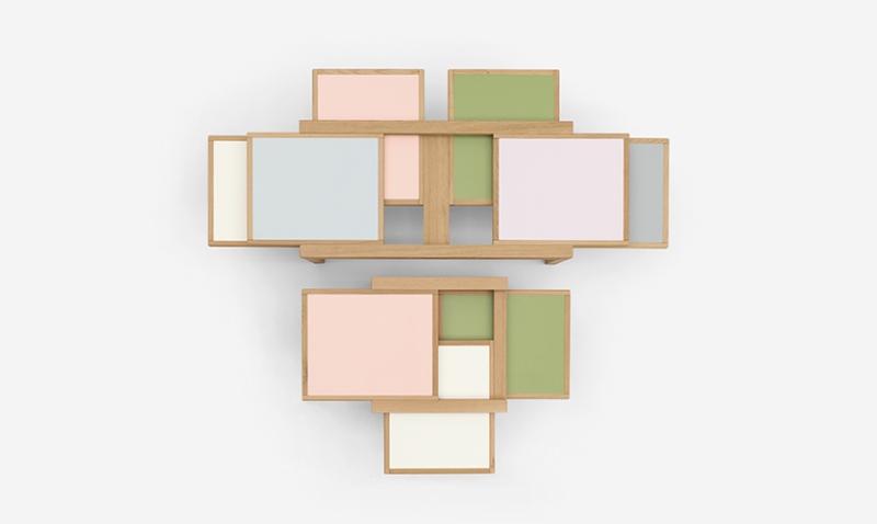 Par 3 coffee tables by Sculptures Jeux