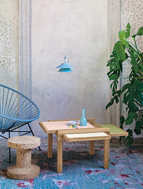 Par 3 coffee table by Sculptures Jeux